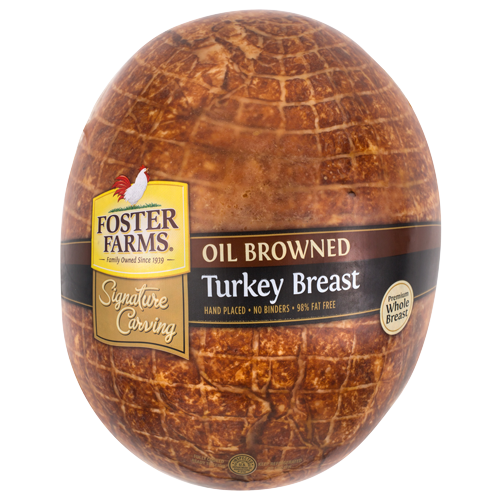 Foster Farms Turkey Signature Carving