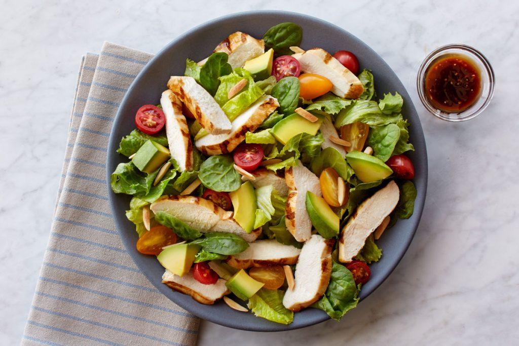 Honey-Balsamic Power Chicken Salad