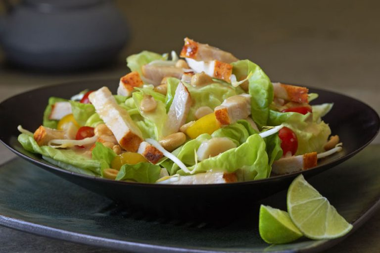 turkey asian cobb salad
