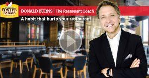 Restaurant Coach: Drama... common habit that hurts restaurants
