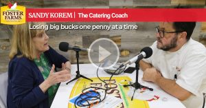 Catering Coach: Losing big bucks one penny at a time