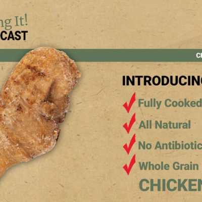 fully cooked all natural chicken