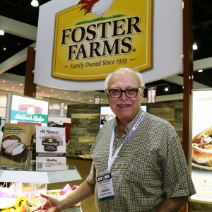 Where were you during the L.A. food show?