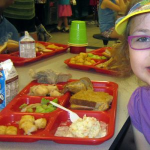 Can re-designed lunch tray get students to eat healthy?